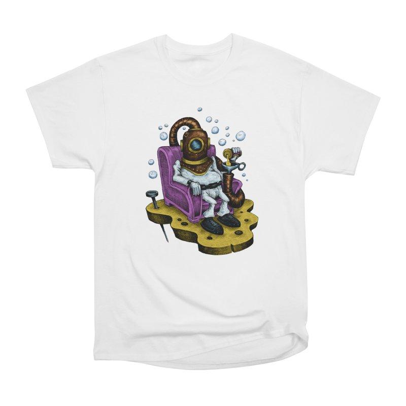 Strong man Women's Heavyweight Unisex T-Shirt by irrthum's Shop