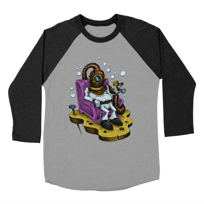 Strong man Women's Baseball Triblend T-Shirt by irrthum's Shop