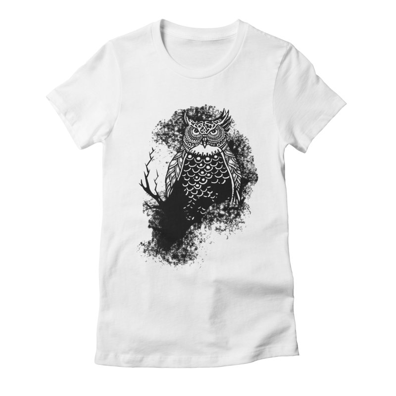 Lookout Women's Fitted T-Shirt by irrthum's Shop