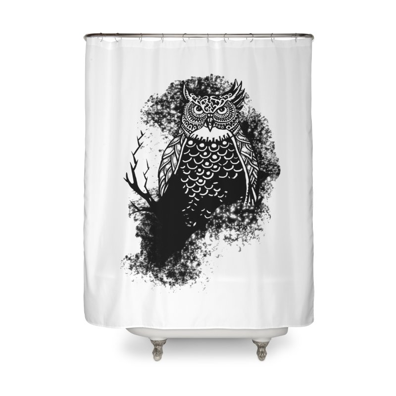 Lookout Home Shower Curtain by irrthum's Shop