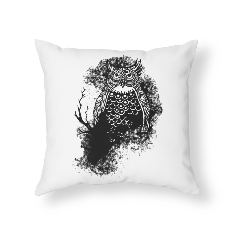 Lookout Home Throw Pillow by irrthum's Shop