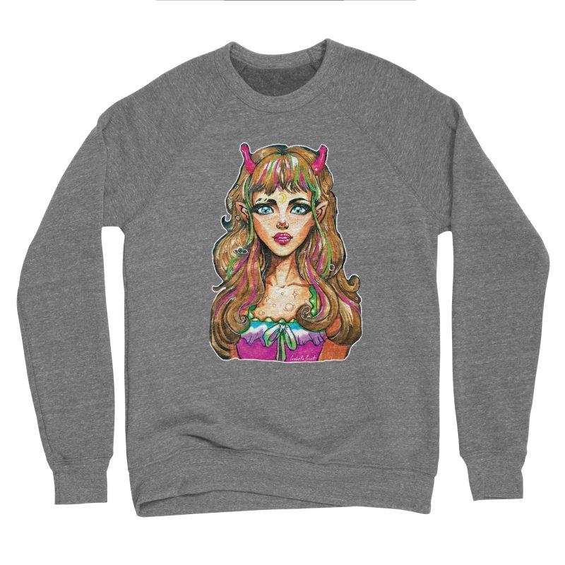 Alien girl Women's Sponge Fleece Sweatshirt by isabellaprint's Artist Shop