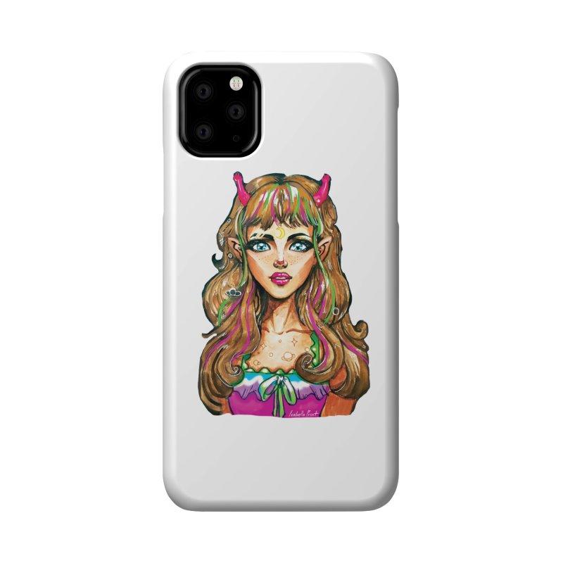 Alien girl Accessories Phone Case by isabellaprint's Artist Shop