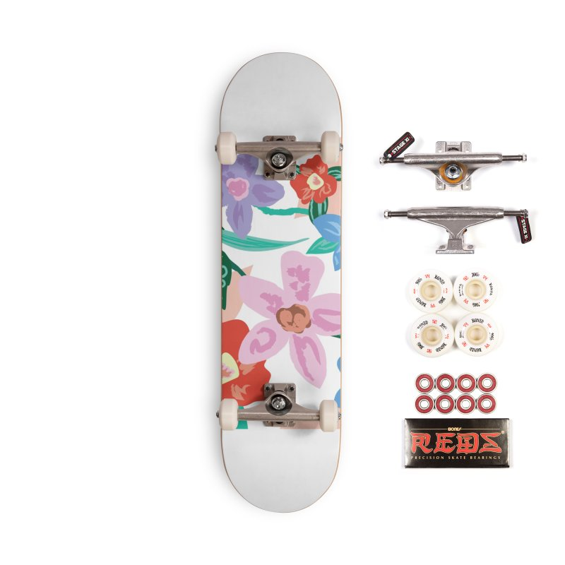 Spring Accessories Complete - Pro Skateboard by isabellaprint's Artist Shop