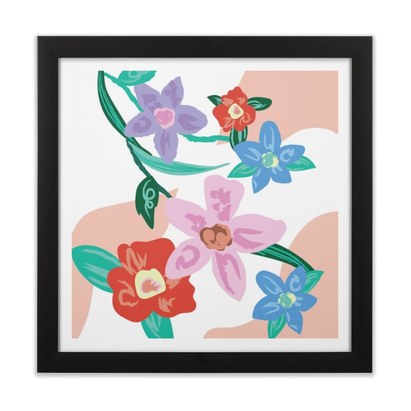 Spring Home Framed Fine Art Print by isabellaprint's Artist Shop