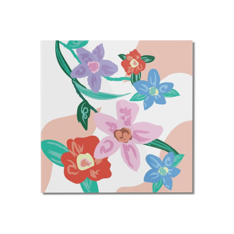 Spring Home Mounted Acrylic Print by isabellaprint's Artist Shop