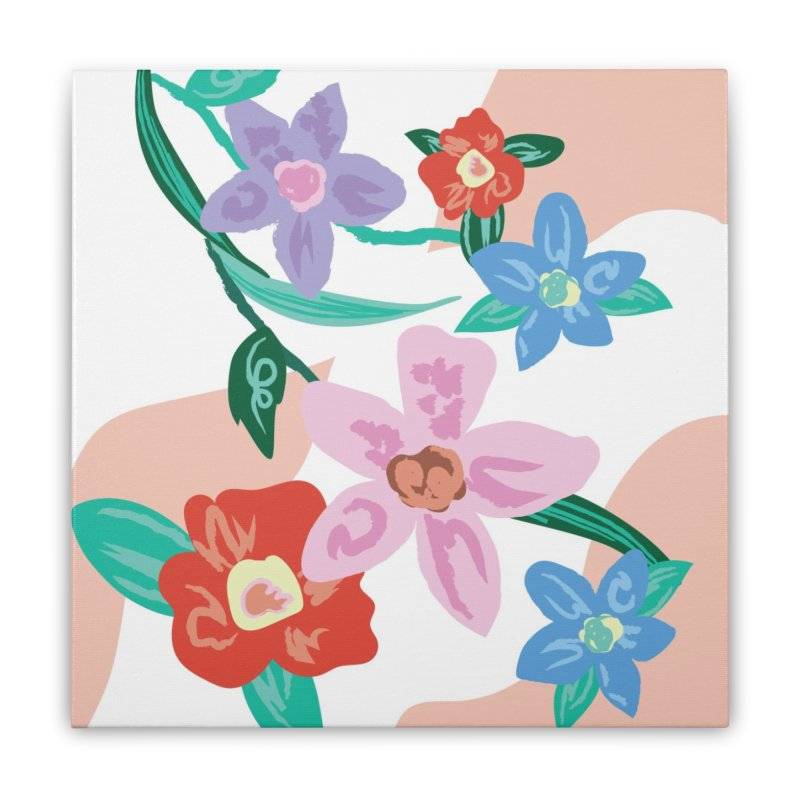 Spring Home Stretched Canvas by isabellaprint's Artist Shop