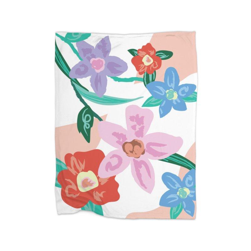 Spring Home Fleece Blanket Blanket by isabellaprint's Artist Shop