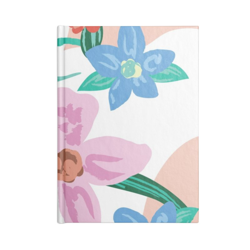 Spring Accessories Lined Journal Notebook by isabellaprint's Artist Shop