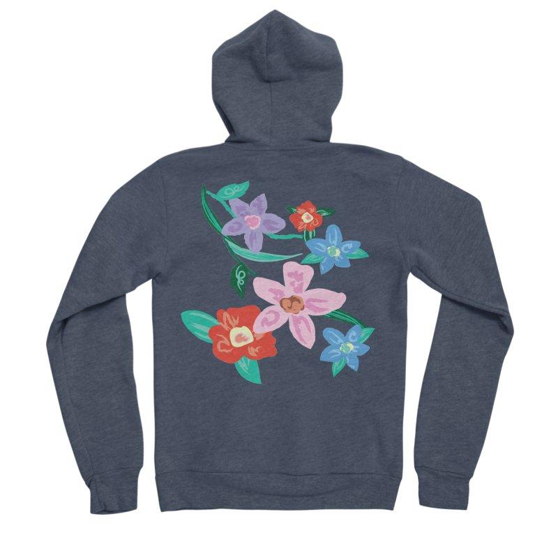 Spring Women's Sponge Fleece Zip-Up Hoody by isabellaprint's Artist Shop