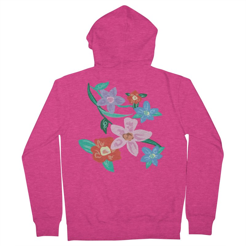 Spring Women's French Terry Zip-Up Hoody by isabellaprint's Artist Shop