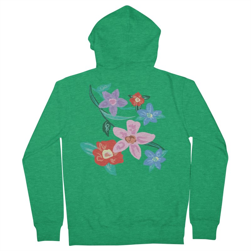 Spring Men's Zip-Up Hoody by isabellaprint's Artist Shop