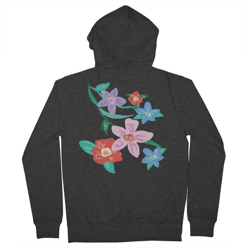 Spring Men's French Terry Zip-Up Hoody by isabellaprint's Artist Shop