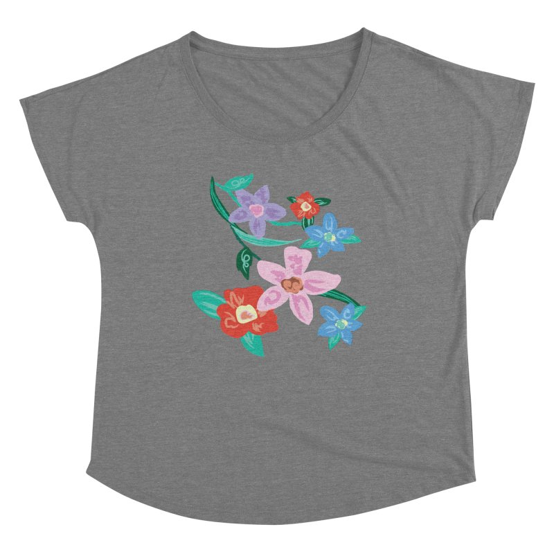 Spring Women's Scoop Neck by isabellaprint's Artist Shop
