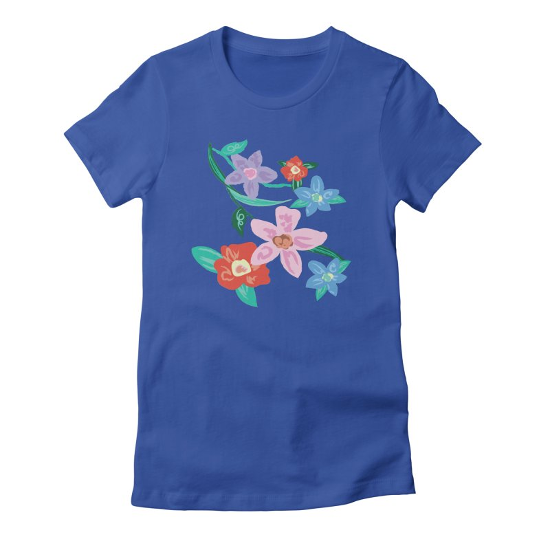 Spring Women's Fitted T-Shirt by isabellaprint's Artist Shop