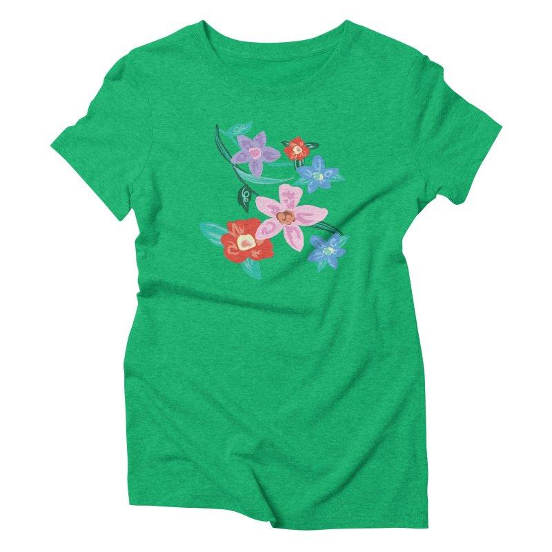 Spring Women's Triblend T-Shirt by isabellaprint's Artist Shop