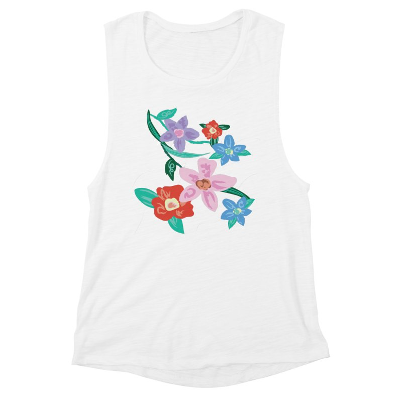 Spring Women's Muscle Tank by isabellaprint's Artist Shop
