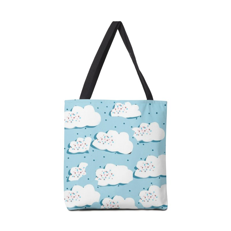 Sweet Clouds Accessories Tote Bag Bag by isabellaprint's Artist Shop
