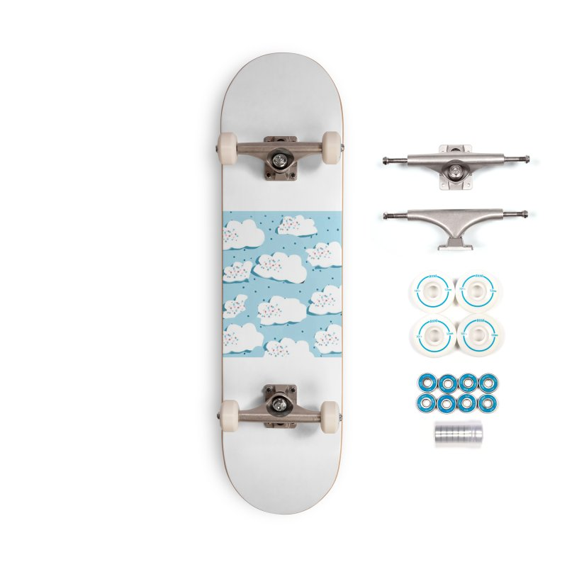Sweet Clouds Accessories Complete - Basic Skateboard by isabellaprint's Artist Shop