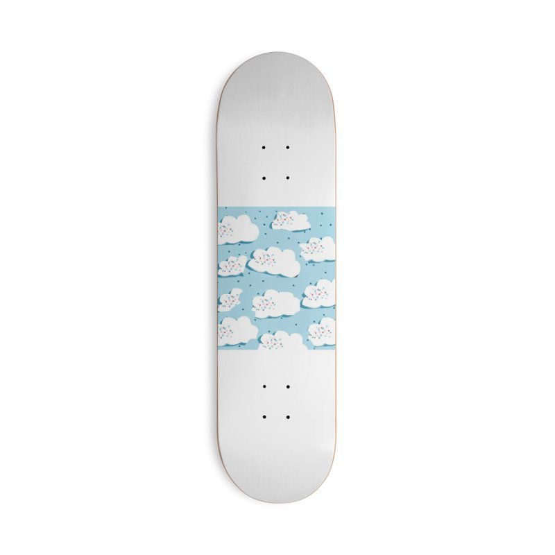 Sweet Clouds Accessories Deck Only Skateboard by isabellaprint's Artist Shop
