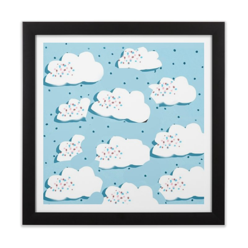 Sweet Clouds Home Framed Fine Art Print by isabellaprint's Artist Shop