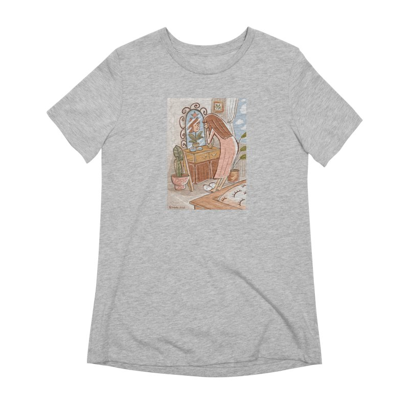 I'm blooming Women's Extra Soft T-Shirt by isabellaprint's Artist Shop