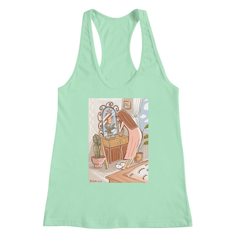 I'm blooming Women's Racerback Tank by isabellaprint's Artist Shop