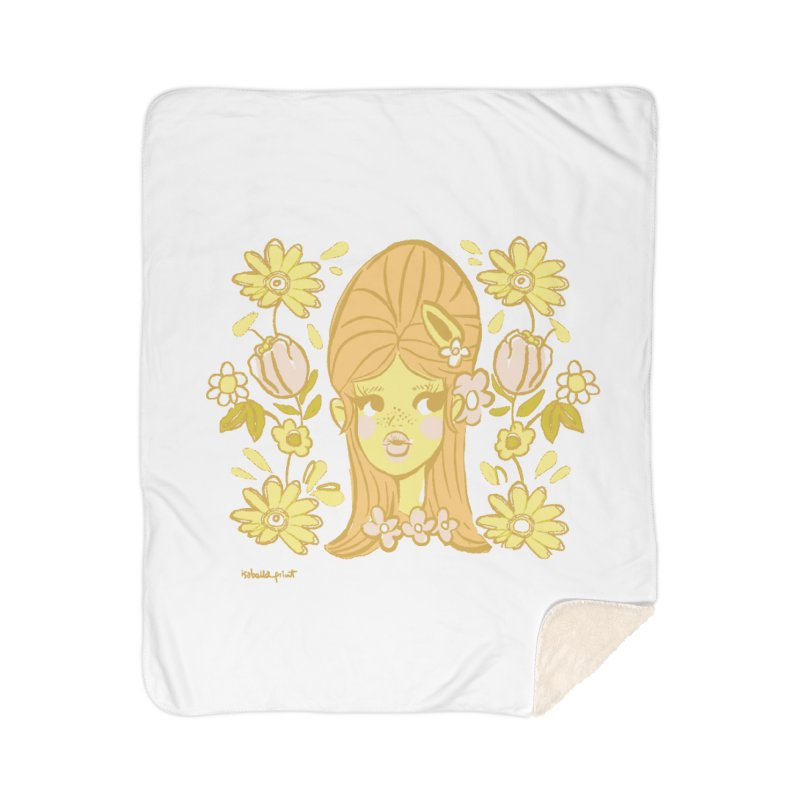 Retro Baby Home Blanket by isabellaprint's Artist Shop