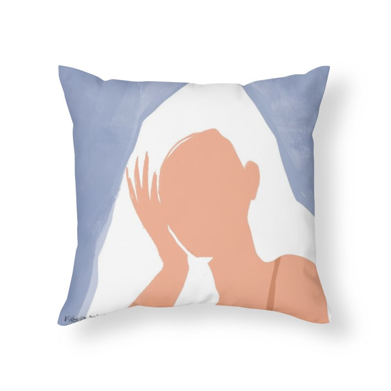 Miss you Home Throw Pillow by isabellaprint's Artist Shop