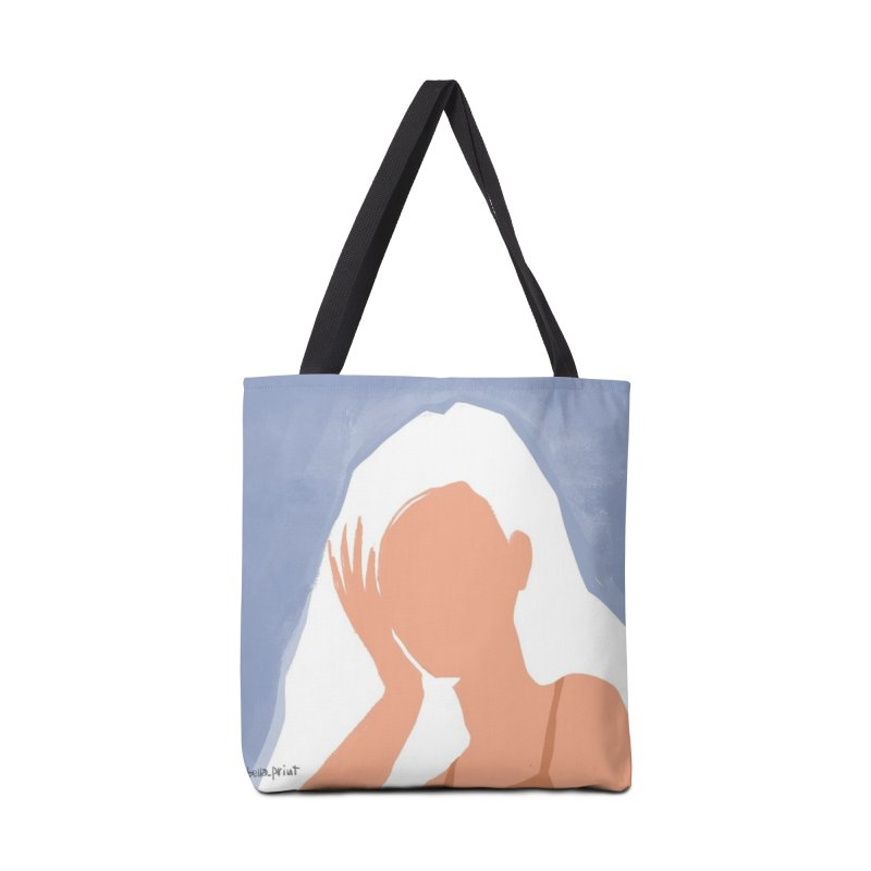 Miss you Accessories Bag by isabellaprint's Artist Shop