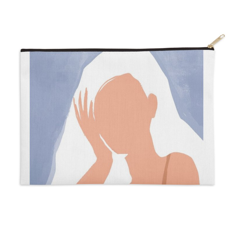 Miss you Accessories Zip Pouch by isabellaprint's Artist Shop