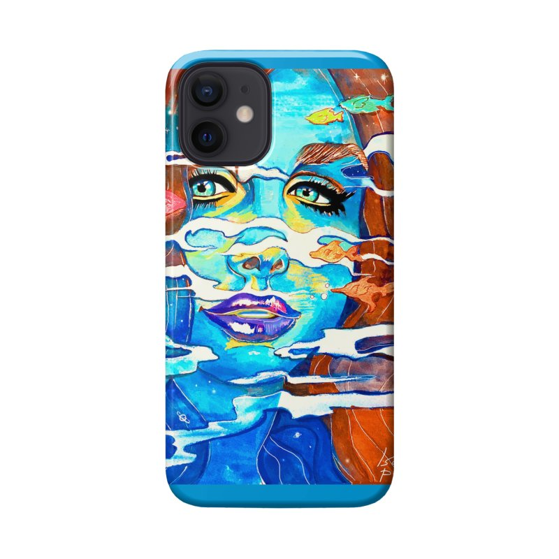Blue Mermaid Prints Accessories Phone Case by isabellaprint's Artist Shop