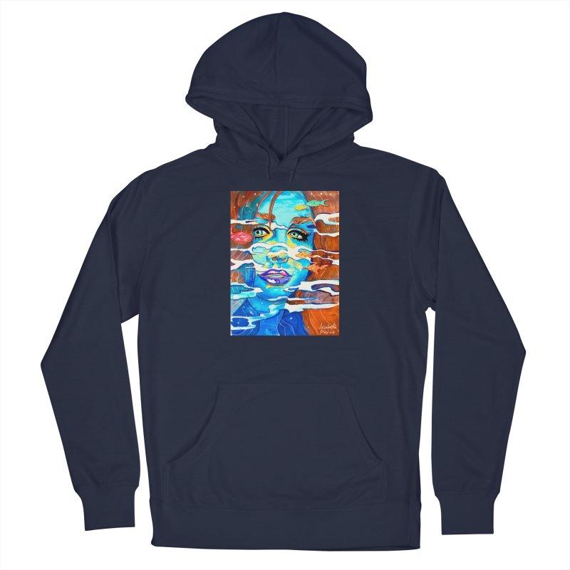 Blue Mermaid Prints Men's Pullover Hoody by isabellaprint's Artist Shop