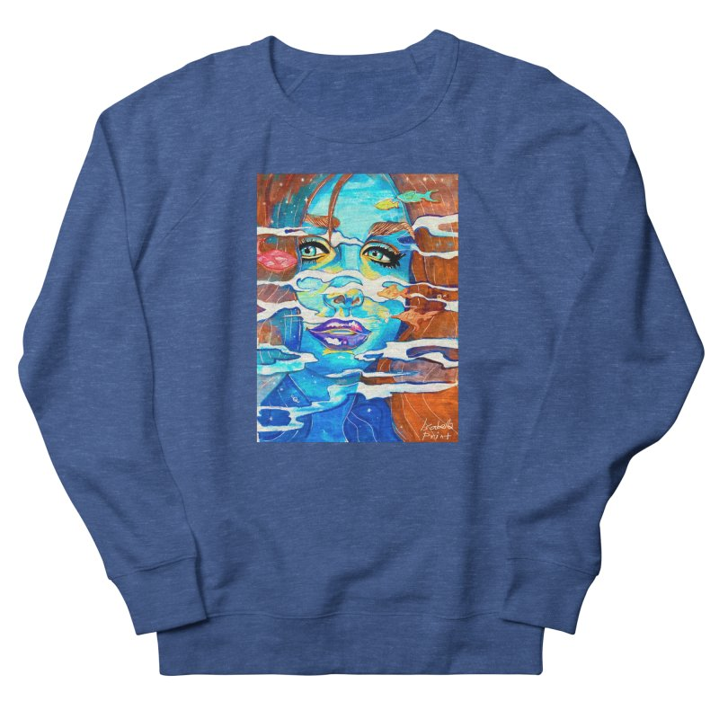 Blue Mermaid Prints Men's Sweatshirt by isabellaprint's Artist Shop