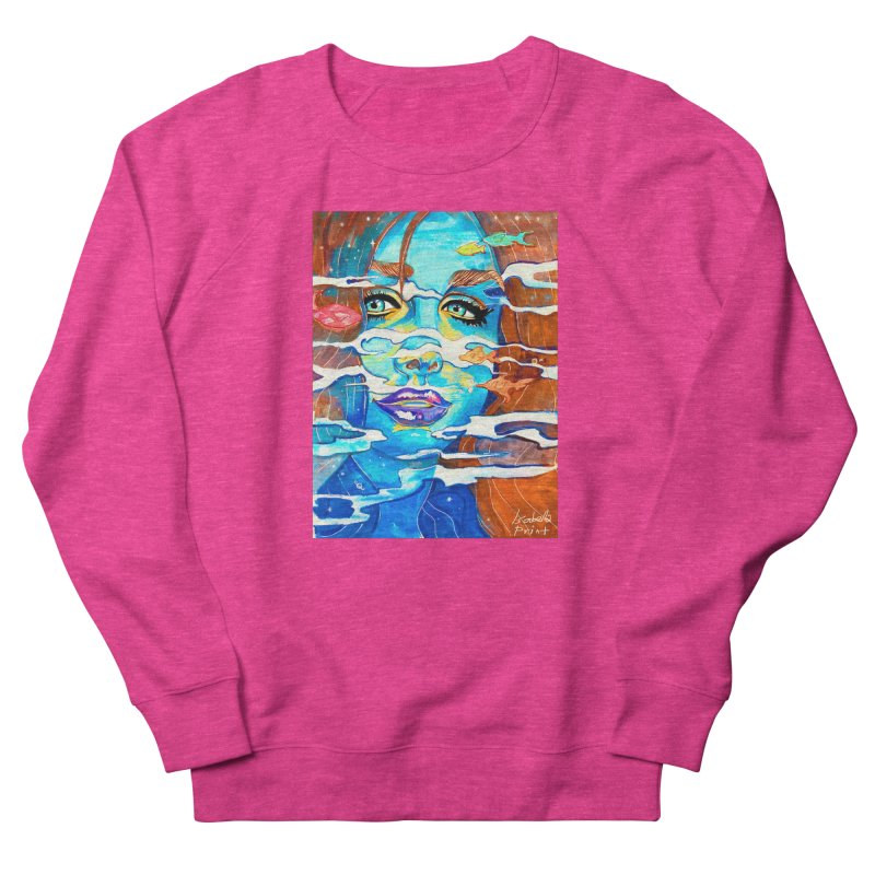 Blue Mermaid Prints Men's Sweatshirt by isabellaprint's Artist Shop