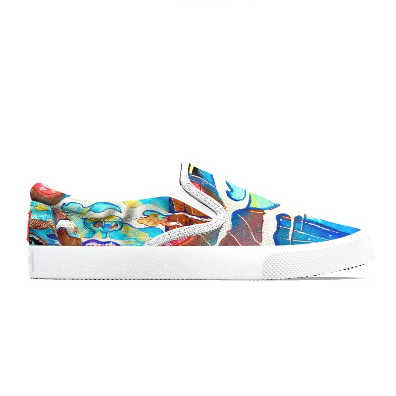Blue Mermaid Prints Women's Shoes by isabellaprint's Artist Shop