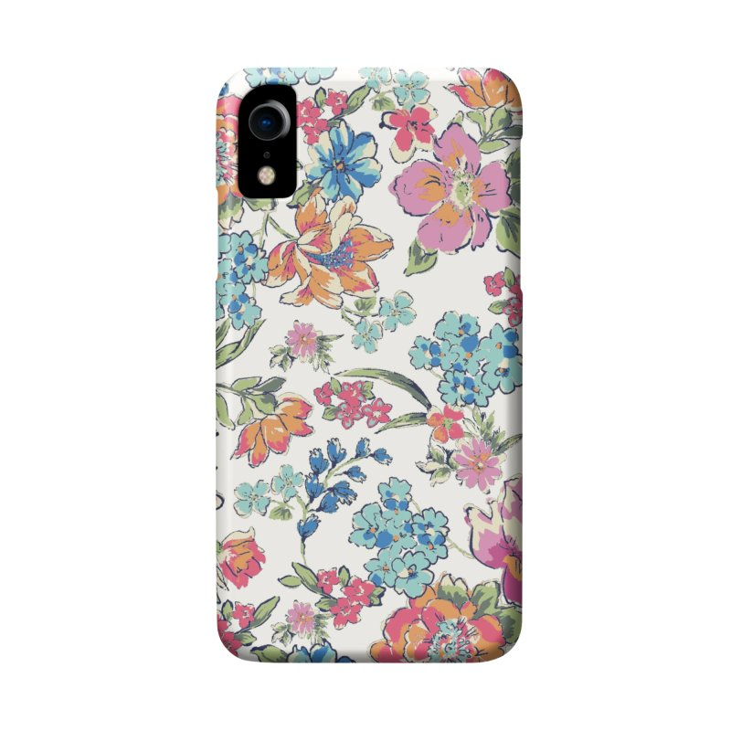 Lively Flowers Accessories Phone Case by isabellaprint's Artist Shop