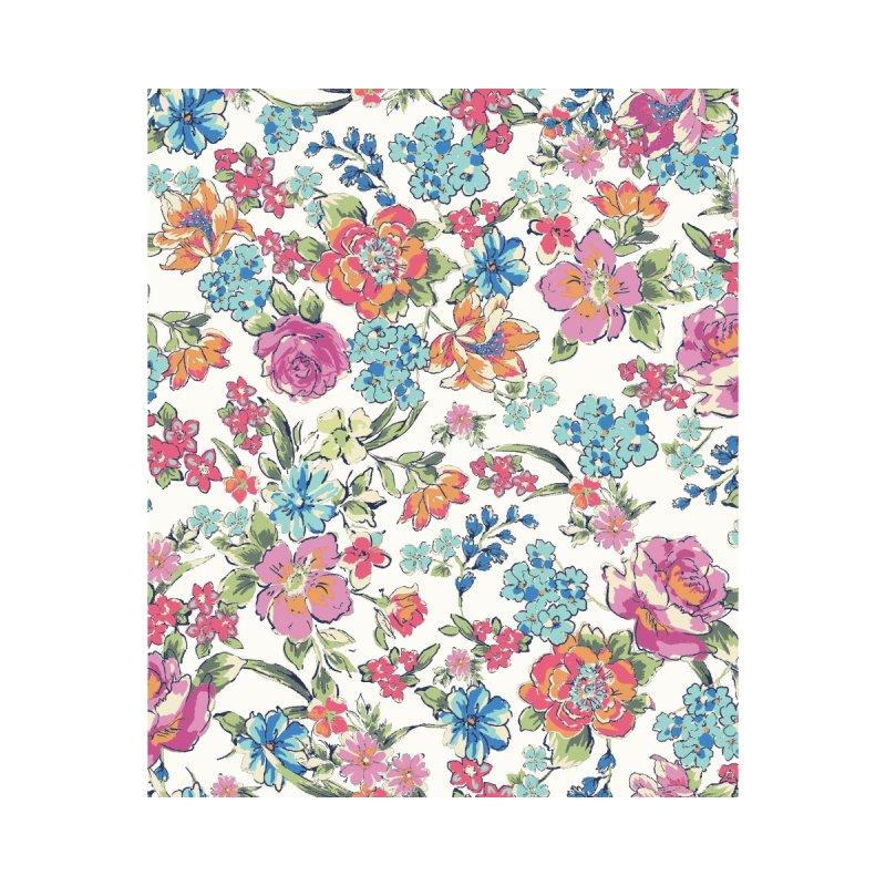Lively Flowers Accessories Notebook by isabellaprint's Artist Shop
