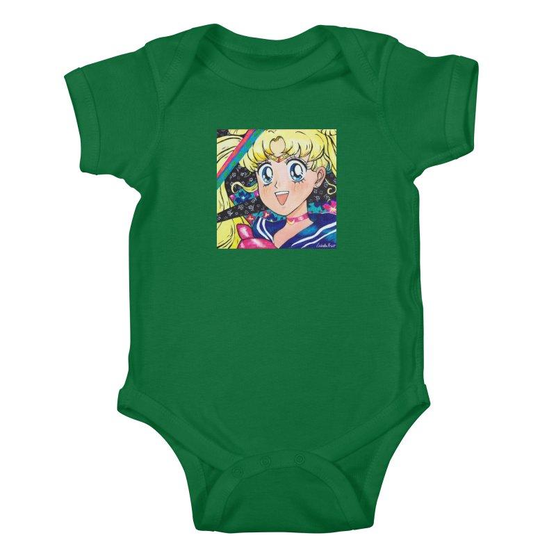 Sailor Moon Prints Kids Baby Bodysuit by isabellaprint's Artist Shop