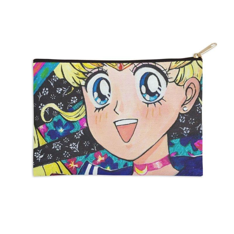Sailor Moon Prints Accessories Zip Pouch by isabellaprint's Artist Shop