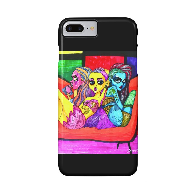 3 Girls Accessories Phone Case by isabellaprint's Artist Shop