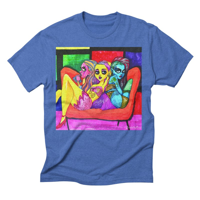 3 Girls Men's T-Shirt by isabellaprint's Artist Shop