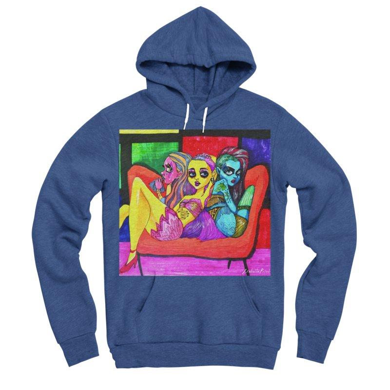 3 Girls Women's Sponge Fleece Pullover Hoody by isabellaprint's Artist Shop