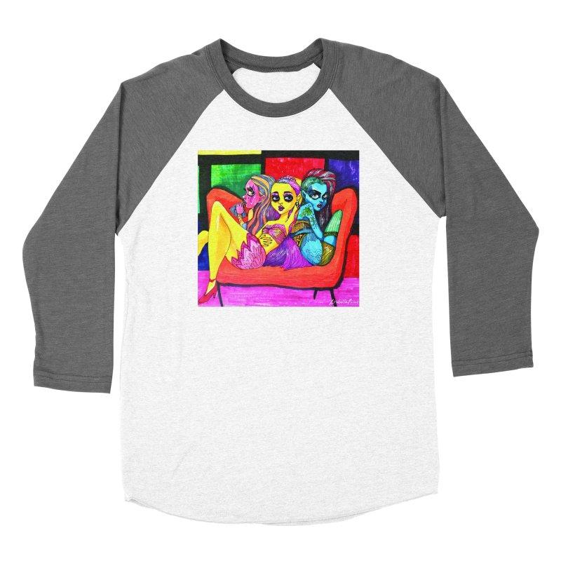 3 Girls Women's Longsleeve T-Shirt by isabellaprint's Artist Shop