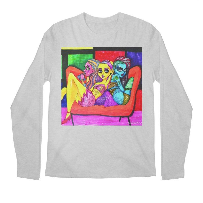 3 Girls Men's Regular Longsleeve T-Shirt by isabellaprint's Artist Shop