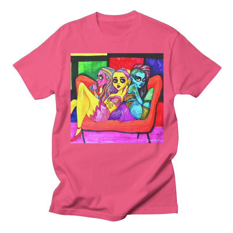 3 Girls Men's Regular T-Shirt by isabellaprint's Artist Shop
