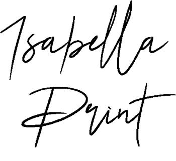 isabellaprint's Artist Shop Logo