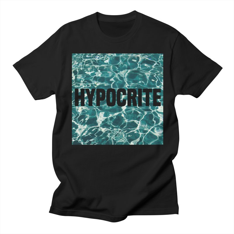 Hypocrite Men's T-shirt by Petty Apparel