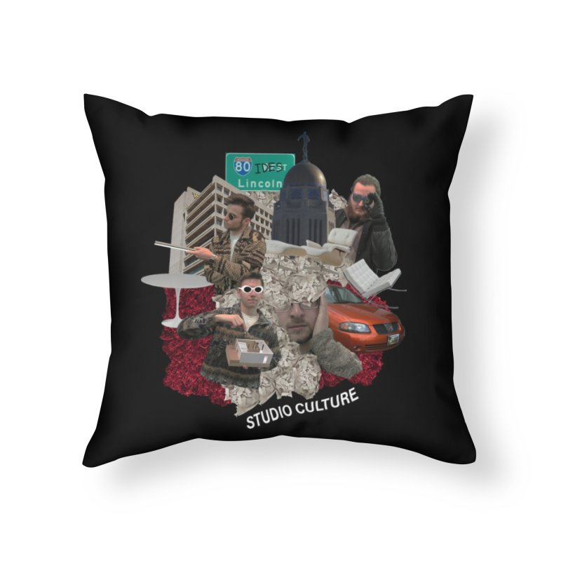 Studio Clutue Home Throw Pillow by Petty Apparel