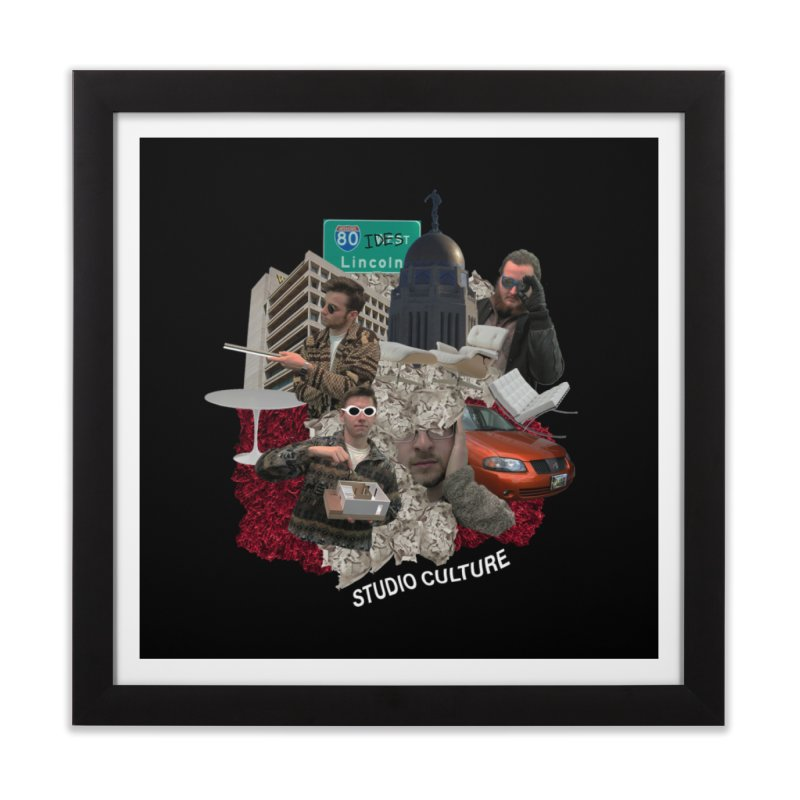 Studio Clutue Home Framed Fine Art Print by Petty Designs